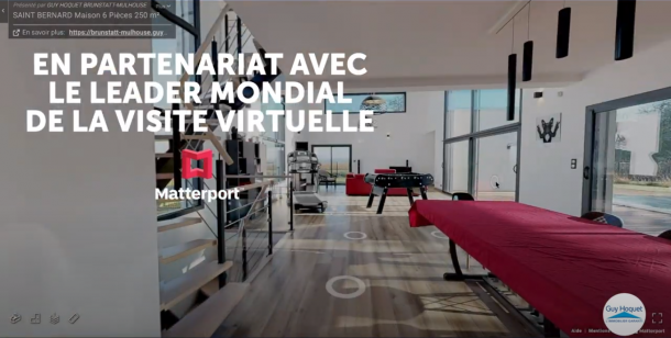 Guy Hoquet booste ses résultats grâce aux visites virtuelles 3D des biens immobiliers réalisées avec Matterport